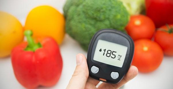 a person investigating diabetes treatments