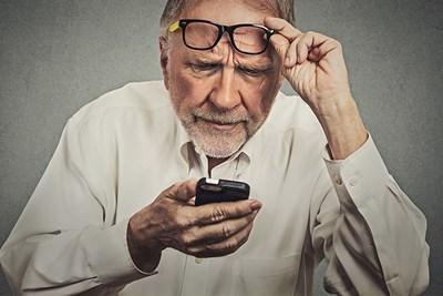 guy experiencing symptoms of astigmatism