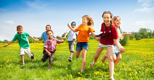 children exercising and preventing childhood obesity