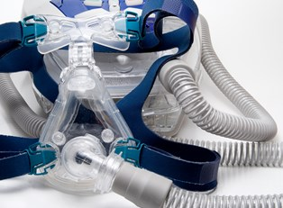 a sleep apnea mask