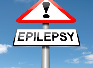 a sign representing epilepsy diagnosis