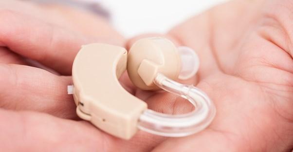 a hearing aid