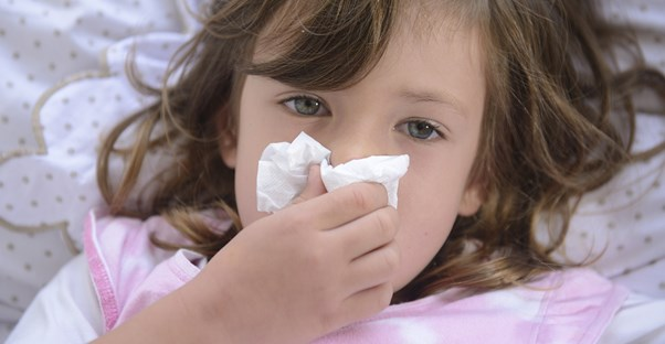 a girl whose parents believe common cold myths