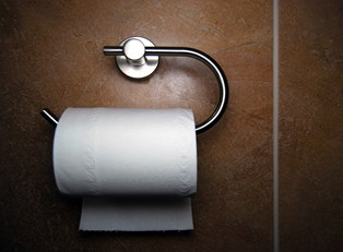 a sight often seen by people suffering from stress incontinence