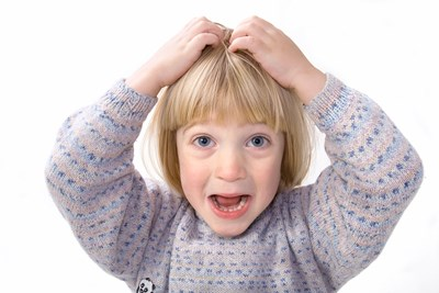 Symptoms of head lice