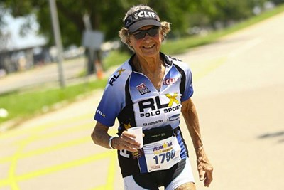 Sister Madonna Buder. Athletes over 50 going strong.