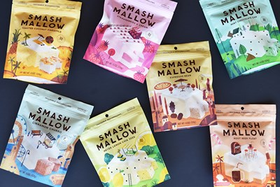 SmashMallow marshmallow road trip snacks