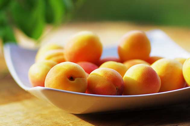 Apricots, Peaches, and Mangoes