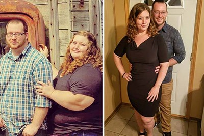 Couple Loses 400 Pounds Together in 18 Months Here's How They Did It