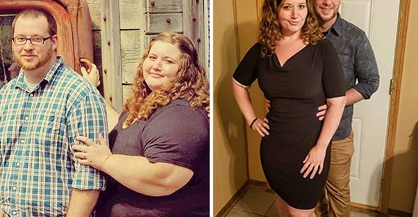 Couple Loses 400 Pounds Together in 18 Months, Here's How They Did It