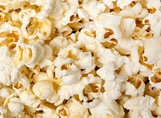 popcorn, which cannot be eaten by people with braces