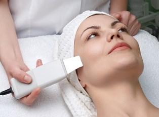 a woman using a botox alternative