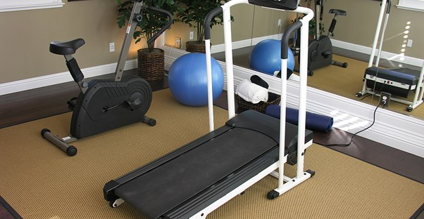a home gym that offers many health benefits