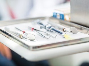 tools used by someone who understands sedation dentistry costs