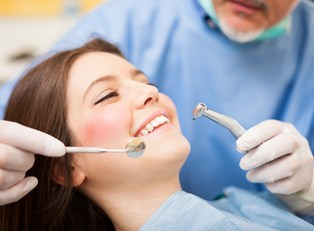 a woman who has prepared for sedation dentistry