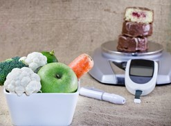 Planning a diabetic diet meal