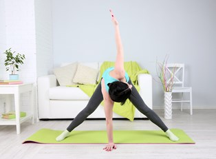 The Benefits and Risks of At-Home Yoga